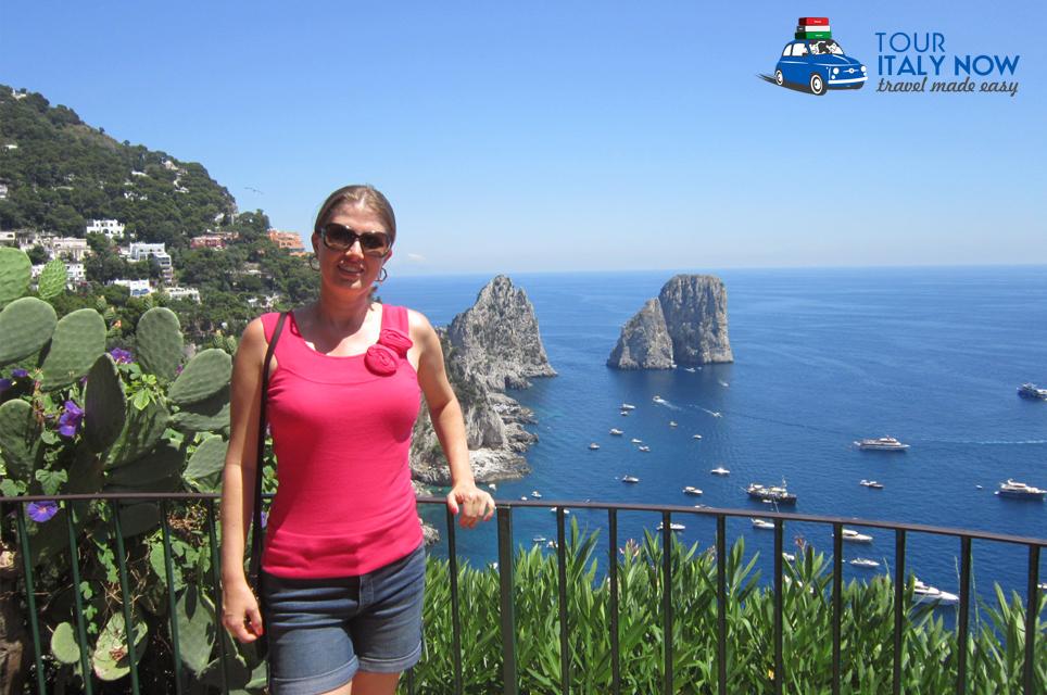 Priscila in Italy